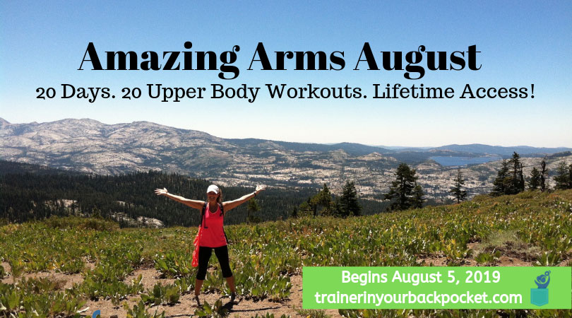 Get Amazing Arms in August